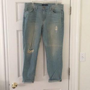 J BRAND Women's Aidan Boyfriend Jeans sz 31 lk new
